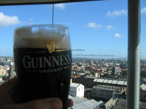 Nice view, pity about the stout