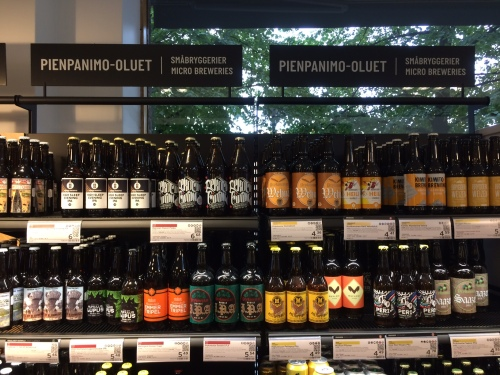 Finnish micro brewery beers